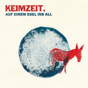 Keimzeit-Auf-einem-Esel-ins-All-Vinyl-Das-Original-Mit-Autogrammkarte