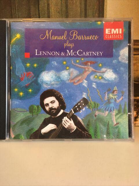 MANUEL BARRUECO PLAYS LENNON & McCARTNEY-CD=vgc