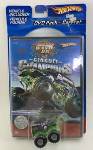 Details about Monster Jam Circuit Champions DVD Pack 2005 Hot Wheels Grave  Digger NEW SEALED