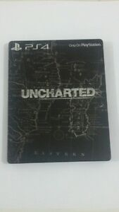 UNCHARTED-Steelbook-BLACK-Case-no-game-NEW