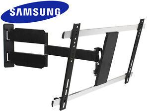 slim corner full motion tv wall mount 32 37 40 42 50 55 60 65 70 lcd led samsung ebay. Black Bedroom Furniture Sets. Home Design Ideas