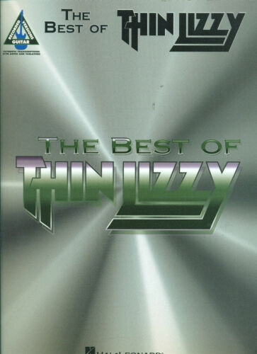 """THE BEST OF /""""THIN LIZZY/"""" MUSIC BOOK  GUITAR-TAB//VOCALS OUT OF PRINT ON SALE NEW!"""