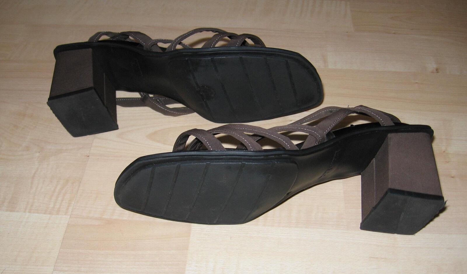Damen Sandalen von More and More, braun, Gr. 37, 37, 37, gebraucht - neuwertig 33f7a4