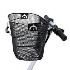 BICI / Bicicletta / Cycle MAGLIA METALLICA Cestino & Quick Release BRACKET Shopping Maniglia NUOVO