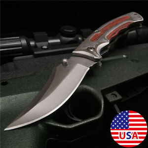 Folding Blade Professional Rescue Knife Cutter Assisted TACTICAL Combat Knives