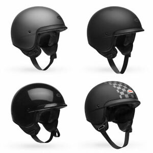 2020-Bell-Scout-Air-3-4-Open-Face-Motorcycle-Helmet-Pick-Size-amp-Color