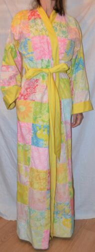 THE LILLY PULITZER  60'S patchwork full length ROB