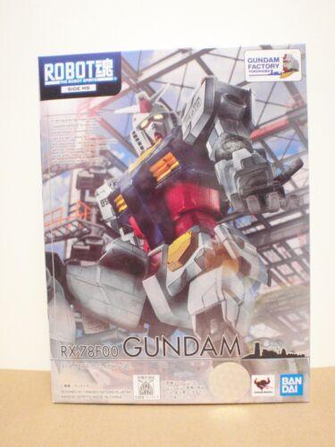 READY Bandai Gundam Factory Yokohama Limited THE ROBOT SPIRITS SIDE MS RX-78F00