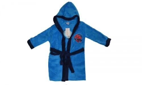 Boy /& Girls Disney TV Character Hooded Warm Bathrobe Dressing Gown New Gift