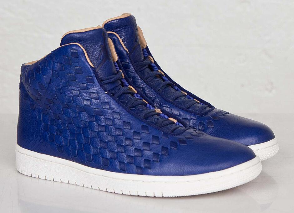 Nike Air Jordan Brillo Profundo azul real 689480410 de cuero vachetta Lux 689480410 real 29e075