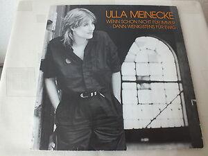 Ulla Meinecke - Wenn schon nicht für immer1 LP Stereo 33 Vinyl Schallplatte s.g. - Gevelsberg, Deutschland - Ulla Meinecke - Wenn schon nicht für immer1 LP Stereo 33 Vinyl Schallplatte s.g. - Gevelsberg, Deutschland