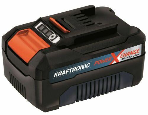 KRAFTRONIC PXC-AKKU 18V Power-X-Change Akku 4Ah KT-18V 4 Ah OVP Neu