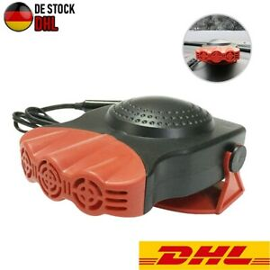 150W 12V Heizlüfter KFZ Auto Zusatzheizung Heizer Scheibenenteiser Defroster