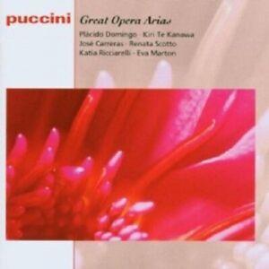 K-te-Kanawa-Carreras-Domingo-Marton-e-molto-altro-Puccini-Great-Opera-Arias-CD-NUOVO