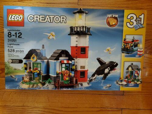 NISB LEGO Creator Lighthouse Point 31051