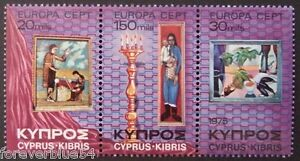 Cyprus 1975 SG 443445 MNH  Paintings Europa  combined postage - <span itemprop=availableAtOrFrom>Glasgow, United Kingdom</span> - Cyprus 1975 SG 443445 MNH  Paintings Europa  combined postage - Glasgow, United Kingdom