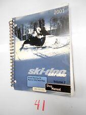 2001 SKI-DOO SNOWMOBILE VOLUME 2 484 200 024 SHOP MANUAL GRAND TOURING MACH Z