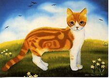 POSTCARD CARTE POSTALE ILLUSTRATEUR ANNA HOLLERER N° LA 151 / CAT / CHAT