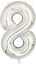 40-034-Giant-Foil-Number-Air-Helium-Glitz-Large-Balloons-Birthday-Party-Wedding thumbnail 49