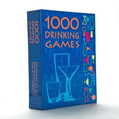 1000 Drinking Games - Outrageously Fun Drinking Games for 2 - 11 Adults.