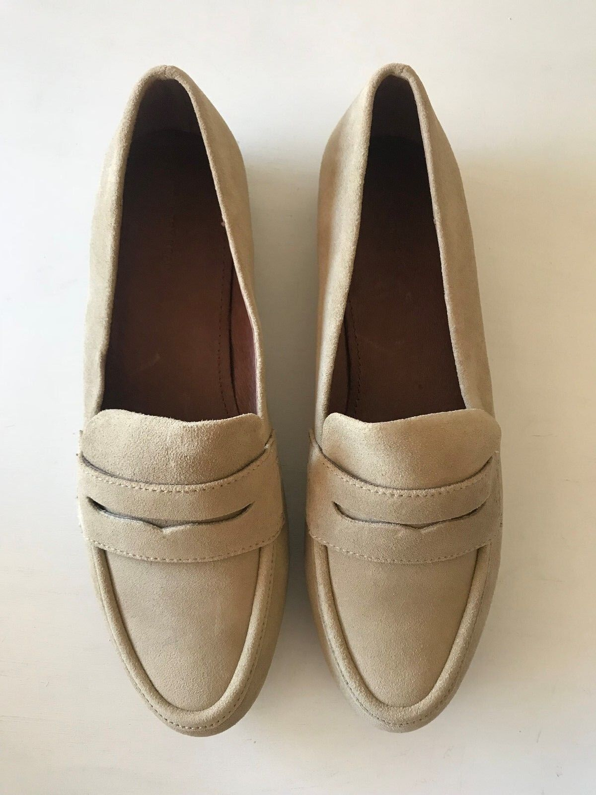 [COUNTRY ROAD] NEW SZ 40,41 [CR LOVE] renee loafer in sand - 9,10