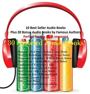 CD-30-Audio-Books-Sight-Impaired-Blind-Re-Sell-Right