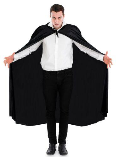 Adult VAMPIRE DRACULA SUPERHERO LONG CAPE Fancy Dress Costume Halloween Party
