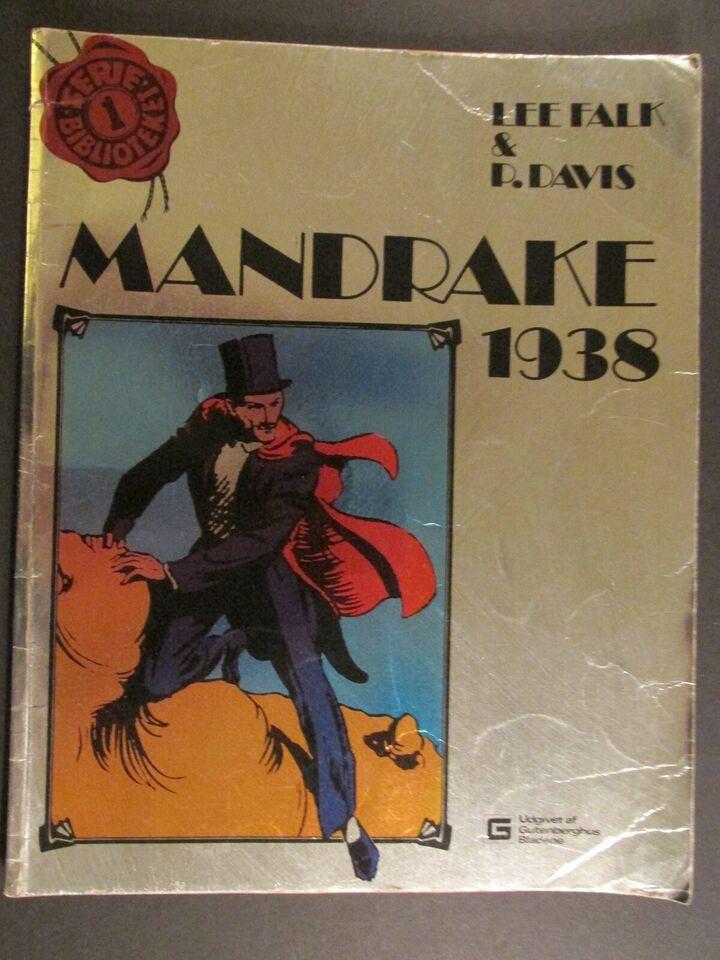 Tegneserier, Seriebiblioteket Album nr. 1: Mandrake