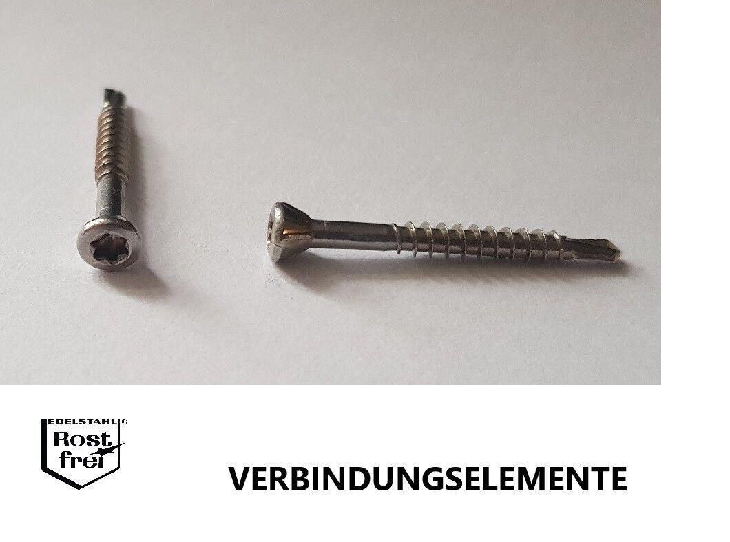 Dielenschrauben Bohrspitze Edelstahl A2 Ø3,2 Länge 30-60mm versandkostenfrei