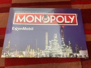Monopoly-Exxon-Mobil-Dutch-Corporate-Rare-Limited-Edition-Brand-New-Sealed