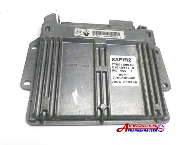 Renault Twingo C06 1,2L 43Kw 58Cv Controlador Zafiro 2 7700109049 7700105560