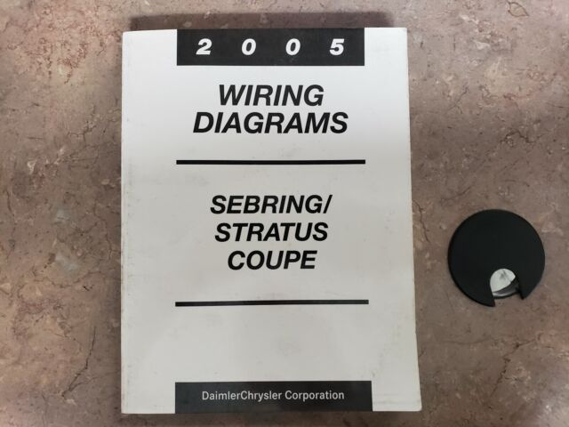 2005 Official Chrysler Sebring Dodge Stratus Coupe Wiring
