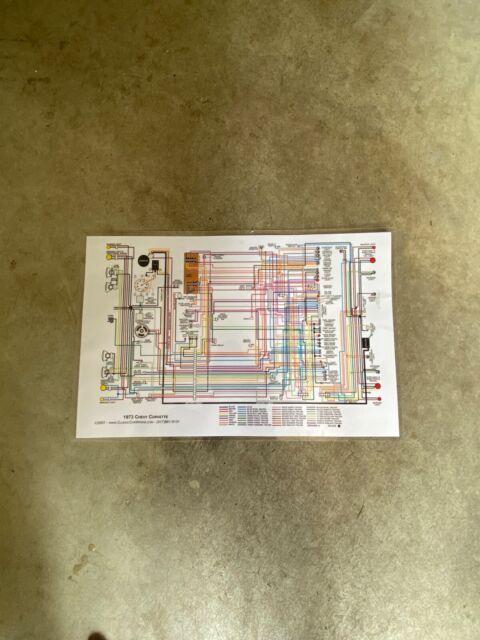 Corvette C3 Wiring Diagram