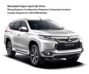 image is loading mitsubishi-pajero-montero-sport-qe-2015-2019-wiring-