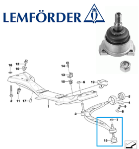 5 YEAR WARRANTY Comline Outer Front Suspension Ball Joint CBJ7038 BRAND NEW