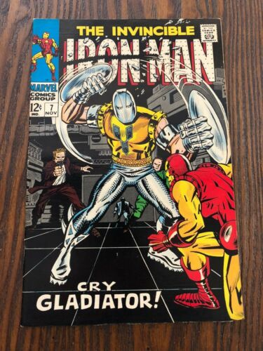 IRON MAN #7 Silver Age. High Grade. Free Shipping. Nice Book.