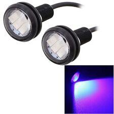 2 PCS  22.5mm 1.5W 150LM Blue Light 3 LED SMD 5630 Spotlight Eagle Eye Light Day