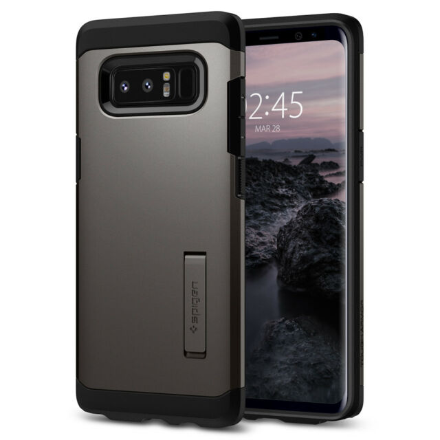 free shipping e02bd 2037f Spigen Tough Armor Galaxy Note 8 Case With Kickstand and Extreme Heavy Duty  Prot