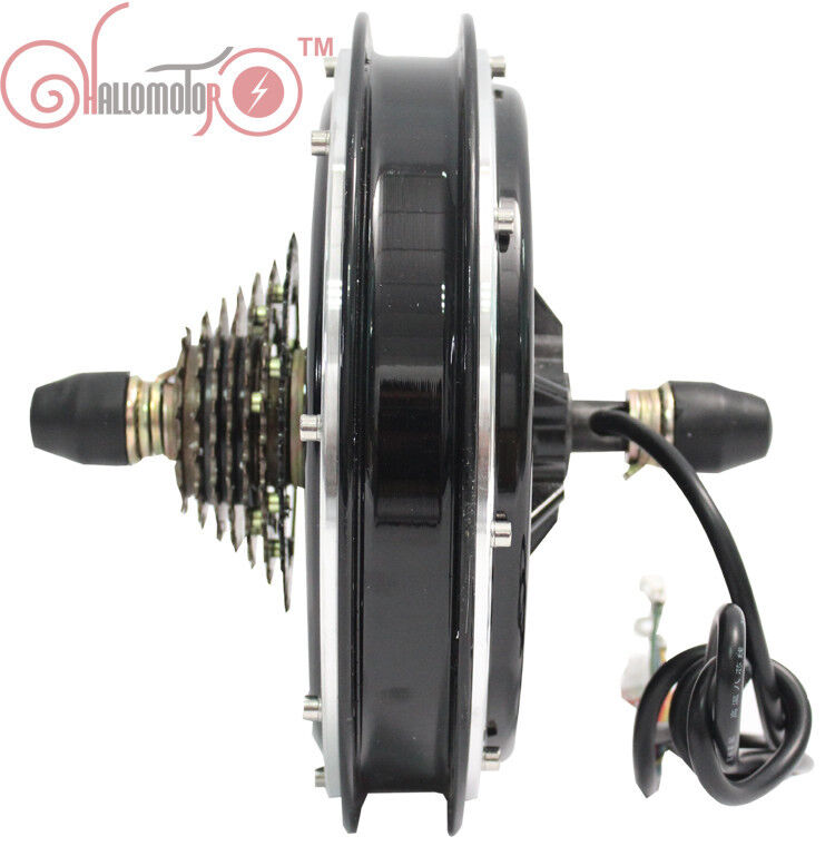 Smooth 36 48V 750W Threaded Brushless  Gearless Rear Hub Motor Electric Bicycle  ultra-low prices