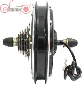 48V-1500W-Threaded-Ebike-Brushless-Gearless-Rear-Hub-Motor-Electric-Bicycle