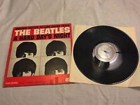 1964 Beatles Hard Days Night OST LP Record Album Vinyl United UAL 3366 Mono A3