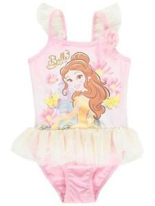 Disney Princess SwimsuitGirls Disney Princess Swimming CostumeNEW