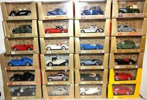 Brumm-Serie-Oro-Model-Cars-1-43-Lavoro-Lotto-vari-modelli-in-scatola-Diecast-Bundle
