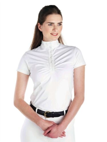 Caldene Allerton Donna Durevole Stretch l'umidità wicking Equitazione Show Camicia