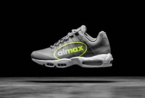 Details about Nike Air Max 95 NS GPX size 13. Big Logo. Grey Volt Neon. AJ7183 001. 1 90 97