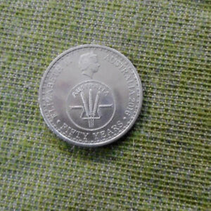 2016   AUSTRALIAN  CIRCULATED 10 CENT  COIN, 1966 to 2016