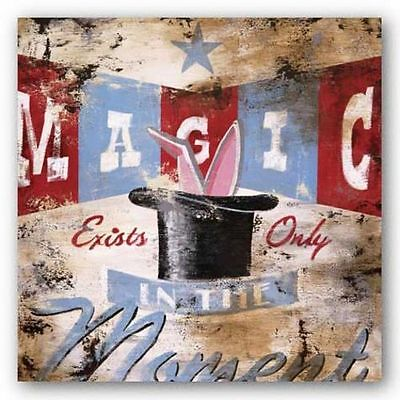 ADVERTISING ART PRINT Magic Moment Rodney White 10x10