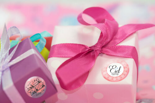 35 Eid Moubarak Autocollants Décorations Cartes À faire soi-même Cupcakes Picks