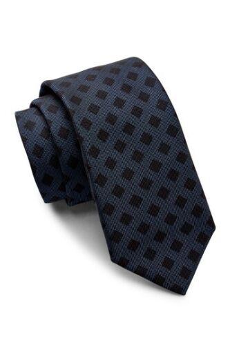 NWT HUGO BOSS Blue Neck Tie Men/'s $95 Made in Italy!