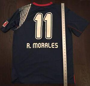 70d8bb97ba5 Chivas De Guadalajara R.Morales Blue RX Red Soccer Futbol Jersey ...